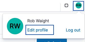 Editing Rob's profile