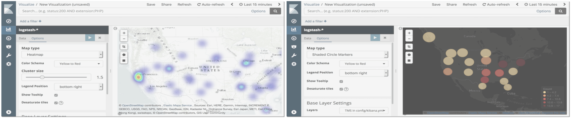 Custom basemaps for region and coordinate maps in Kibana | Elastic Blog
