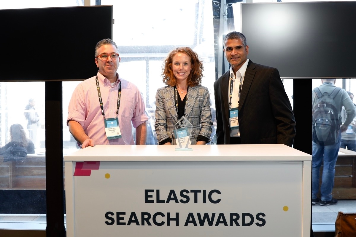 Elastic Search Awards 2020 - PSCU