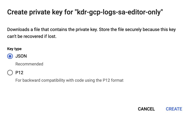 Create private key