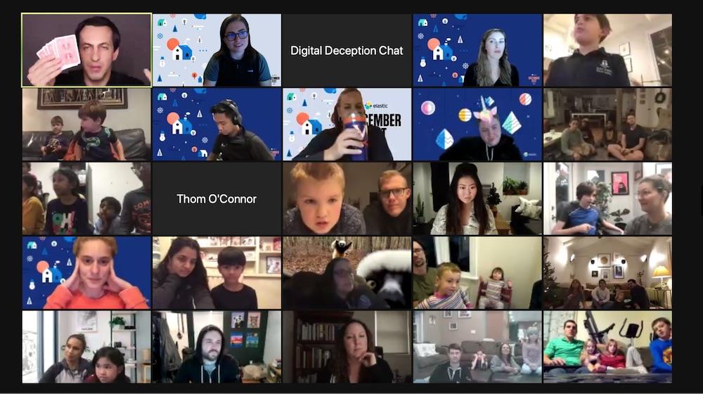 Digital Deception magic show