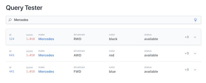 Comenzar a buscar contenido con Query Tester (Herramienta de prueba de búsquedas)