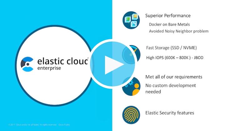 Watch the full Cisco ECE presentation presentation from Elastic{ON} tour Santa Clara