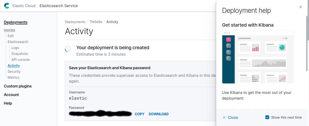 Cloud password