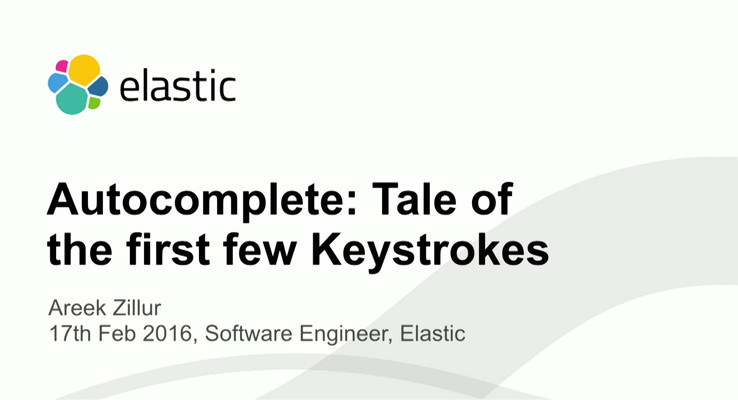 Video for Autocomplete: The Tale of the First Few Keystrokes