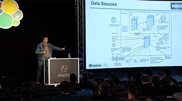 Video for NERSC Data Collect: Using Elasticsearch as a Long-Term Data Storage Engine