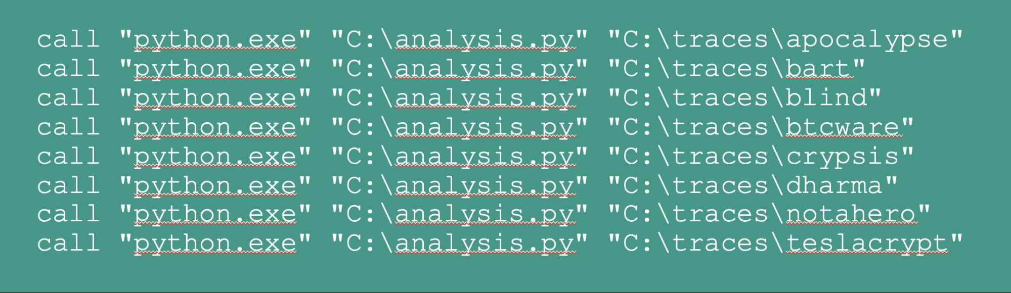 Batch Python file