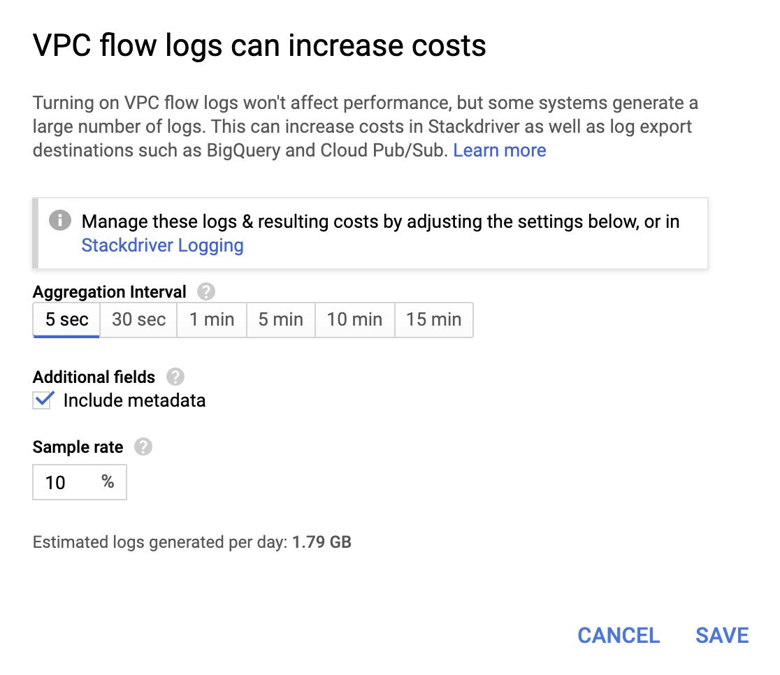 VPC-Flusslogs können Kostentreiber sein