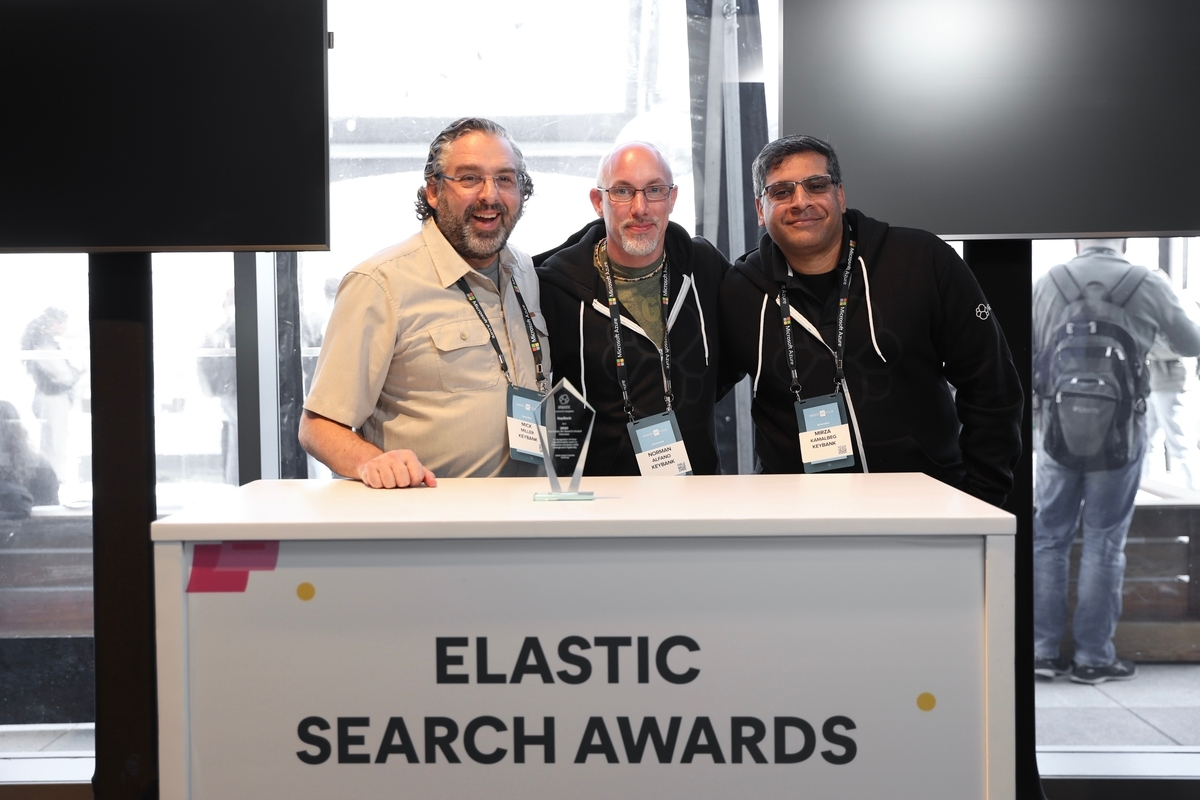 Elastic Search Awards 2020 - KeyBank