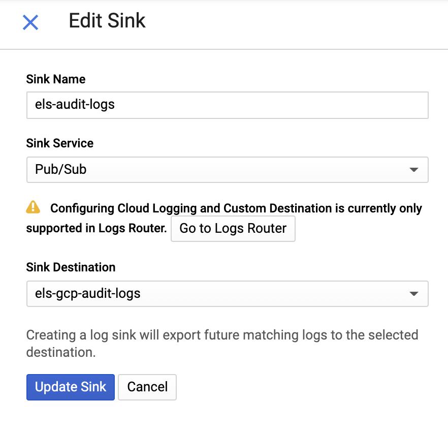 Edit sink