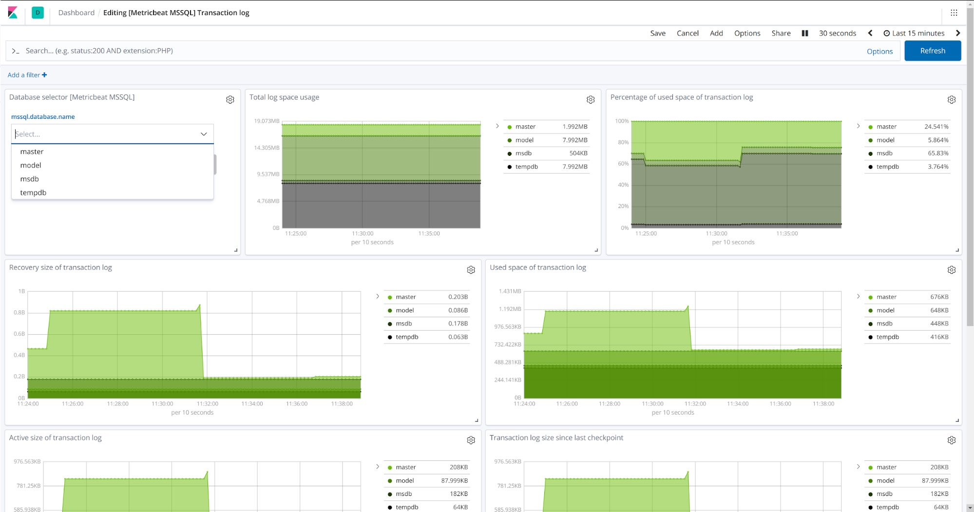 Server dashboard open source