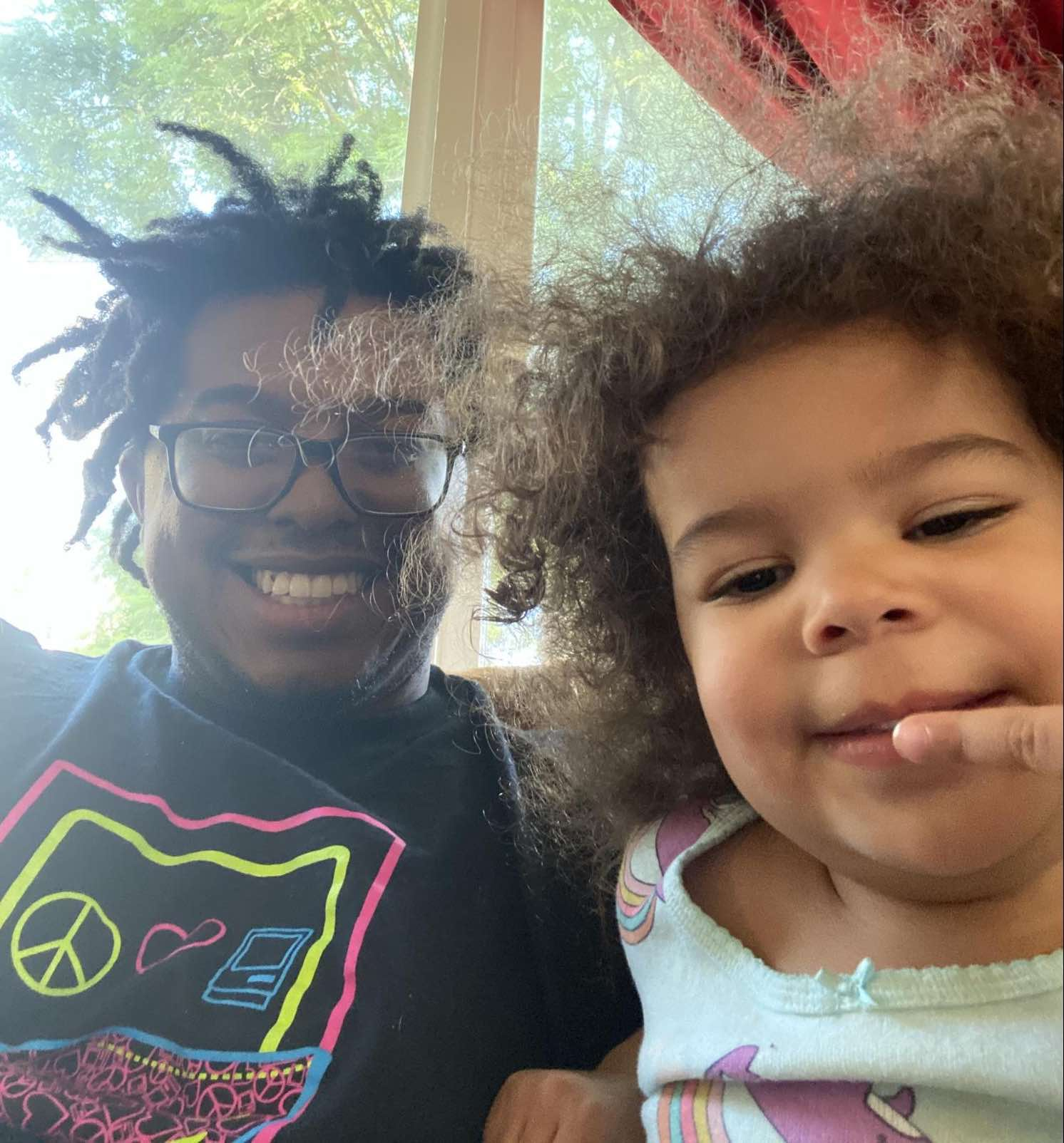 Jay and his daughter.
