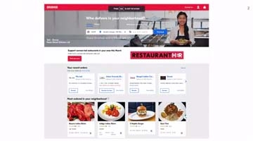 Video for Helping Grubhub Diners Search for the Perfect Meal