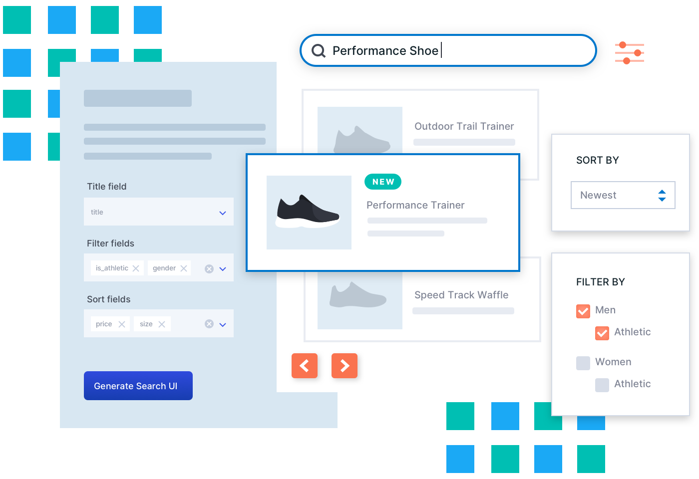 Elastic App Search UI visualization