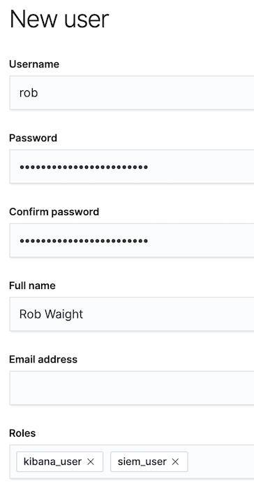 New user Rob