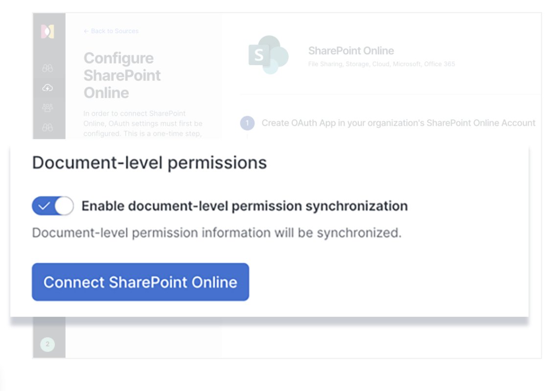 Configuring doc-level permissions for SharePoint in Elastic Workplace Search