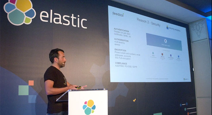 Video for Preventing Fraud and Building an End-to-End Data Science Hub at Feedzai with Elastic