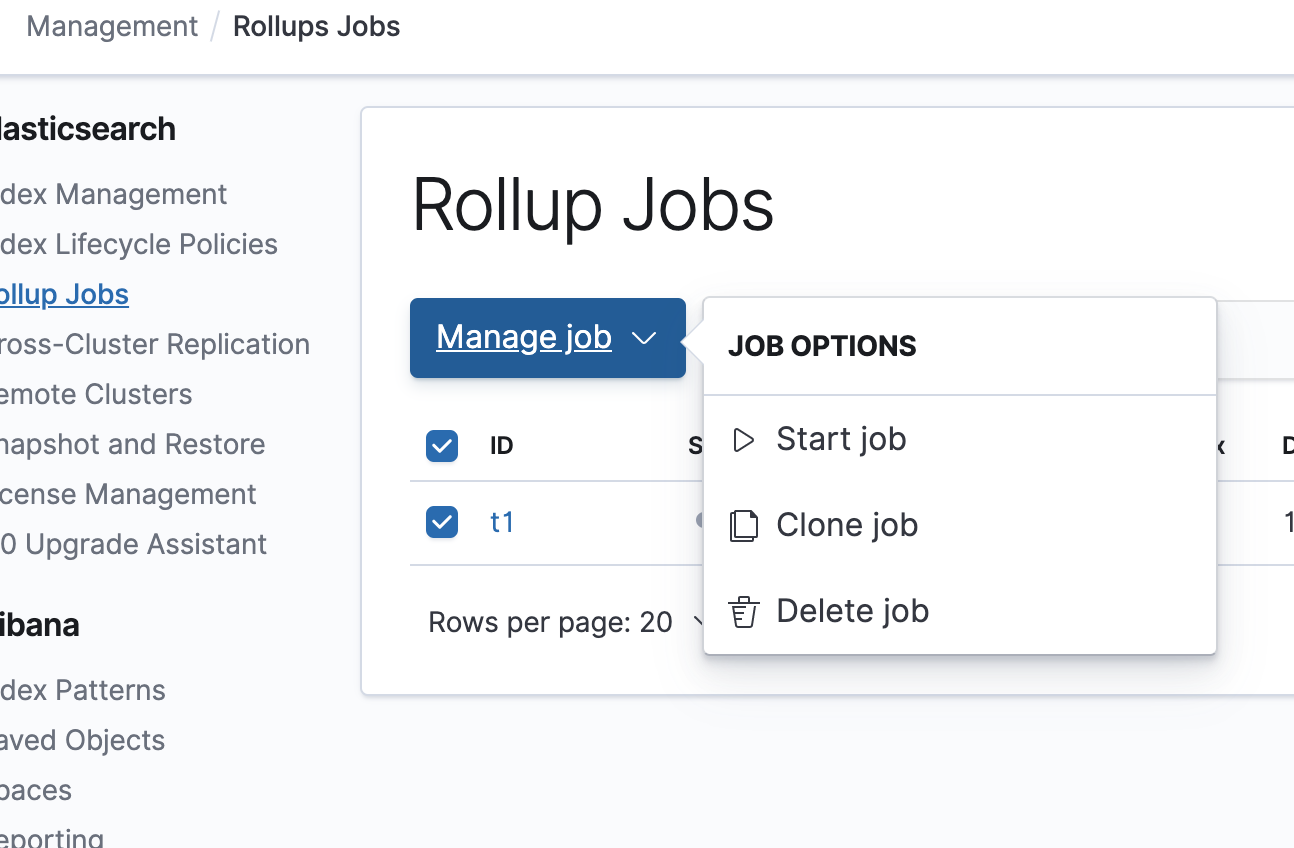 Rollup UI