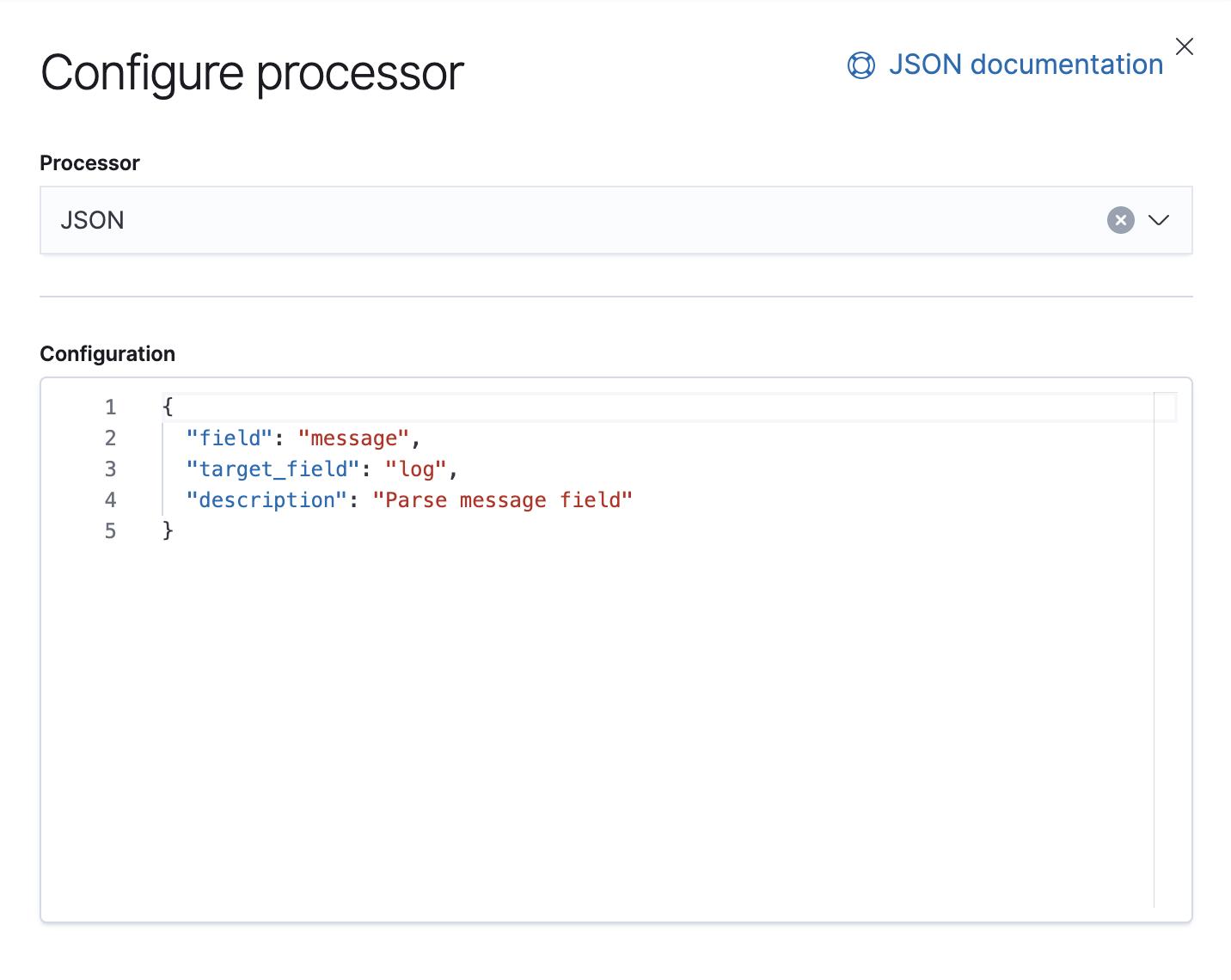 Configure processor