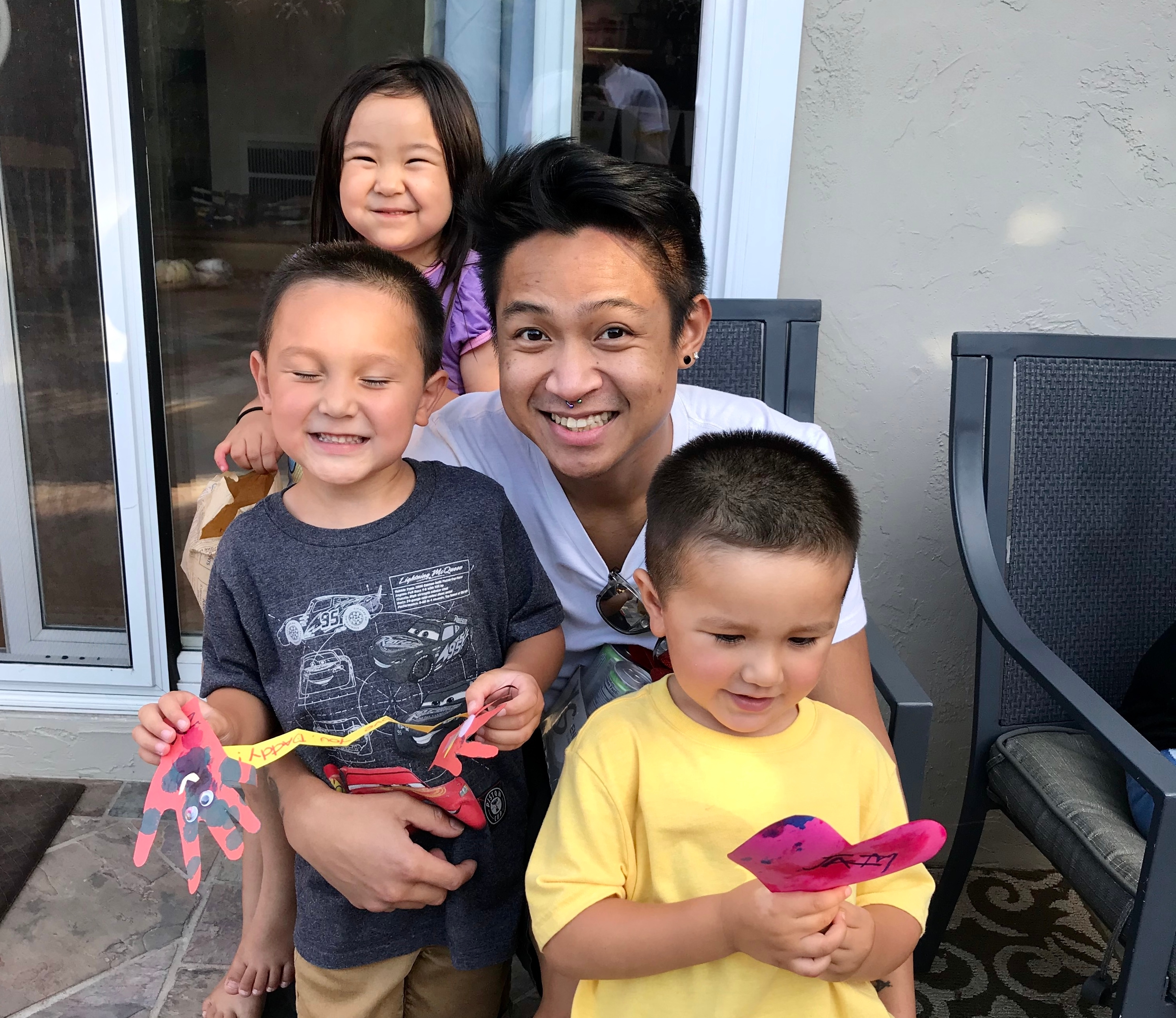 Nikko and his family.