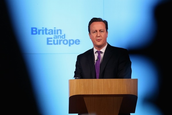 Prime Minister David Cameron Makes Speech On The UK's Position In Europe