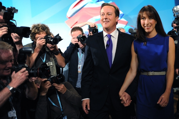 The Conservatives have received a poll bump from their party conference. Picture: Getty Images
