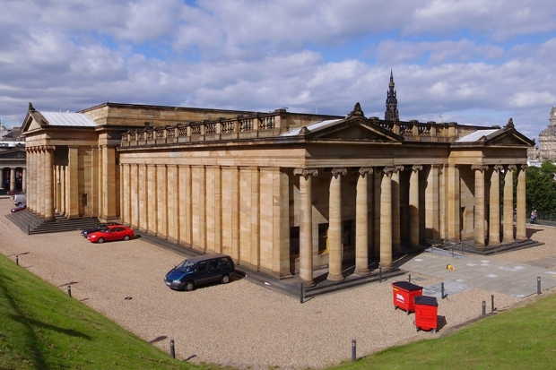 National Gallery of Scotland (Photo: Wikimedia Commons)