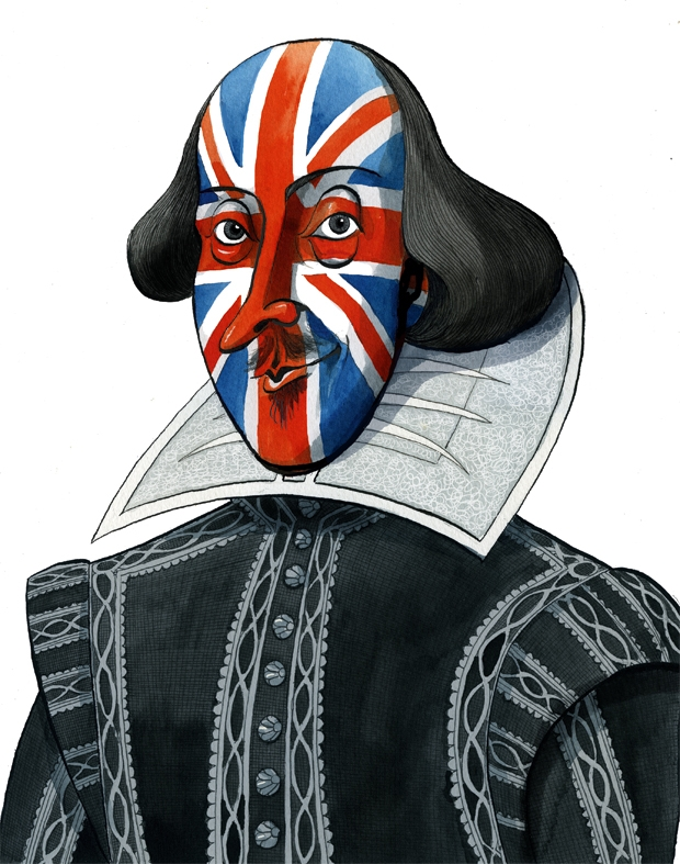 Shakespeare invented Britain. Now he can save it