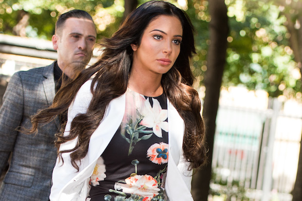 Tulisa Contostavlos. Try saying that six times fast. Or just once correctly, if you're a BBC presenter. Image: Ian Gavan/Getty Images