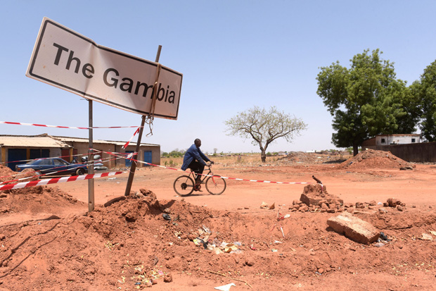 Exodus from Gambia