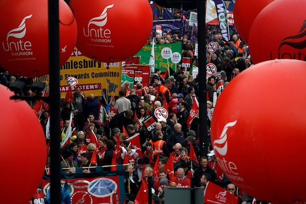 Trade unions have a greater influence beyond the Labour party. Photo: Warrick Page/Getty Images