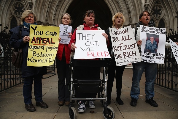 """The """"bedroom tax"""" case has been rejected by the High Court."""