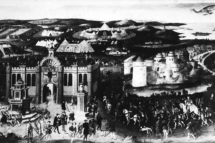 The festival where Henry VIII and Francis I made their peace