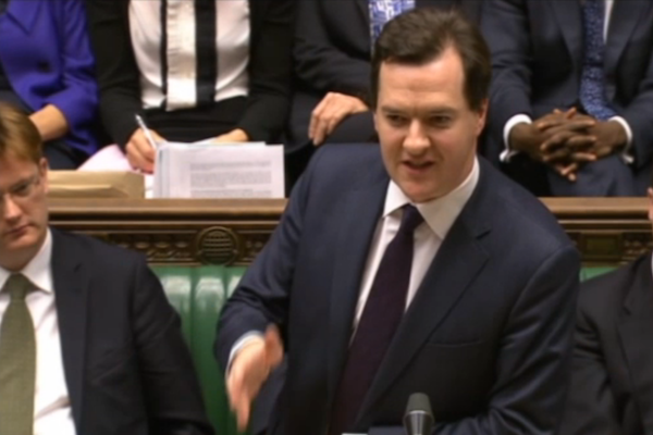 George Osborne delivers his Autumn Statement to the House of Commons.