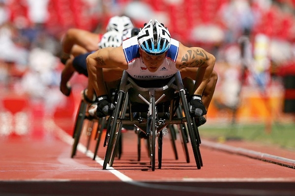 Ministers could find themselves fighting a row about fitness-to-work assessments during the Paralympics. Picture: Getty.