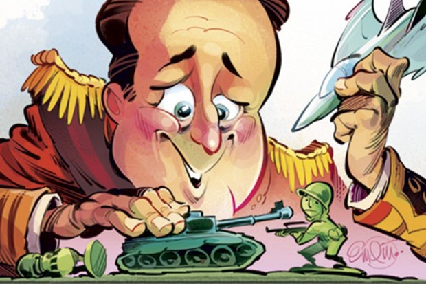 Britain's armed forces no longer have the resources for a major war