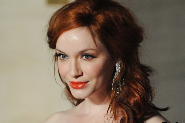 Christina Hendricks - a ginger woman, who is not a witch (Stuart Wilson/Getty)