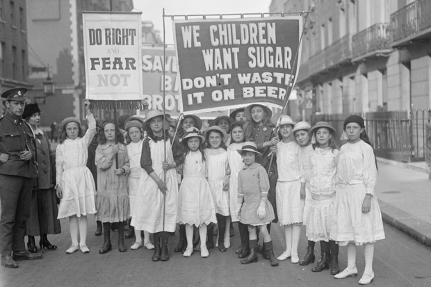 Children needed sugar too (Photo: Topical Press Agency/Getty)