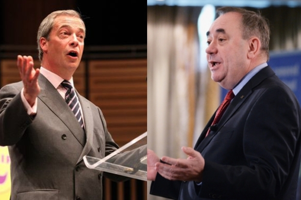 Nigel Farage and Alex Salmond are more like than either would care to admit.