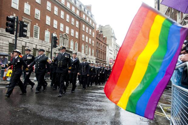 London Gay Pride. Picture: Getty