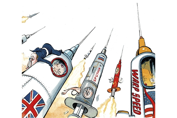 Could the EU's vaccines spat impact the UK's supply?