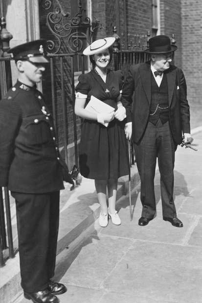 'Papa told us everything': Winston Churchill and the remarkable Mary Soames