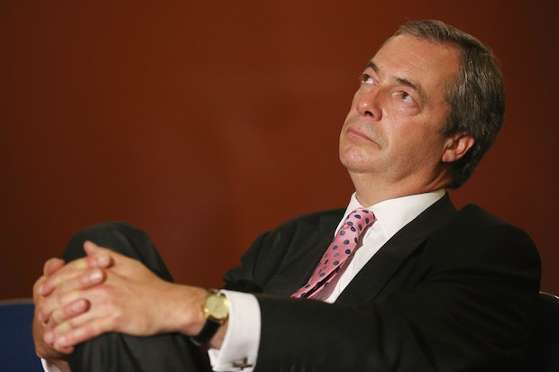 Nigel Farage has announced he does not want to lead the 'Out' campaign. Photo: Getty Images.