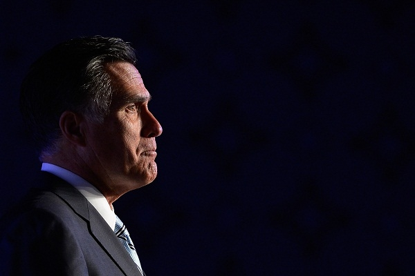Mitt Romney's 'gaffe' is the latest example of how distant the Washington parties are from the heartlands of the American working class. Image: Getty.