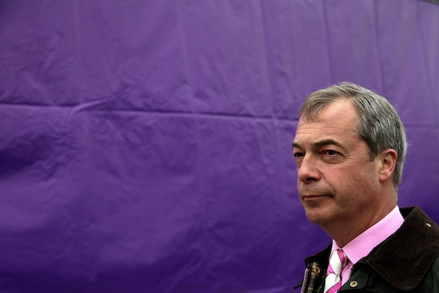 'Every pub is a parliament': on the campaign trail with Nigel Farage