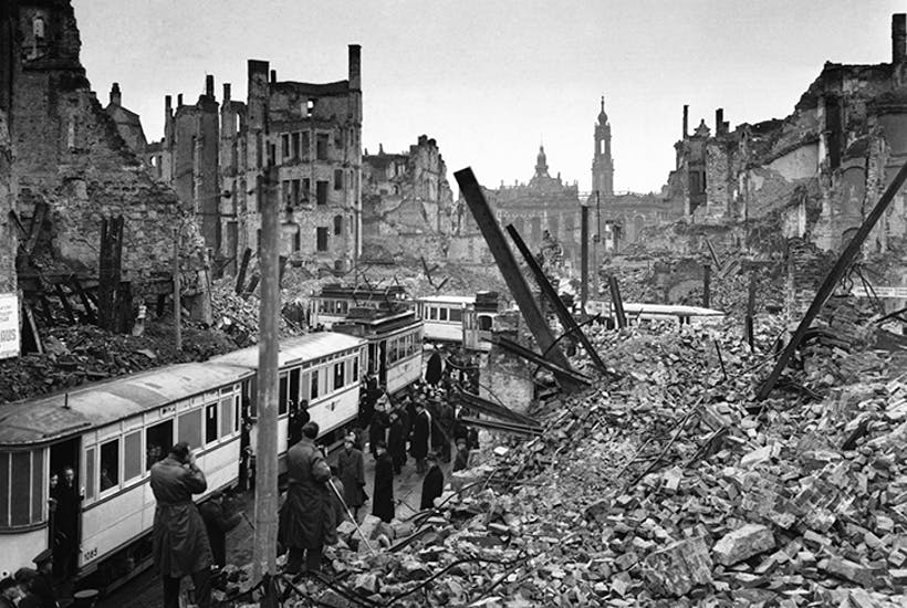 Did Britain commit a war crime in Dresden? A conversation