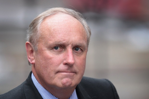 'It would be appalling lèse-majesté if aspersions were to be cast on Paul Dacre, the editor of the Daily Mail, who lives nearby. The guilty man is reported to be a hedge-fund manager.' Says Charles Moore.