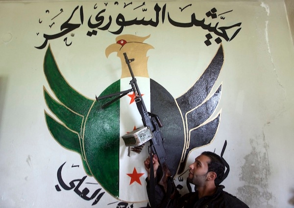 The Free Syrian Army is being taken over by groups of jihadist thugs