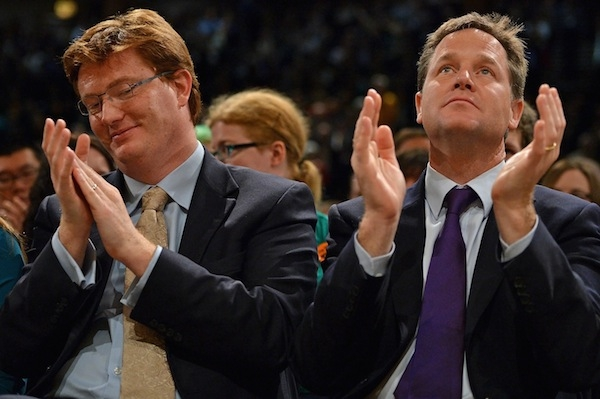 Danny Alexander and Nick Clegg. Photo: Getty Images.