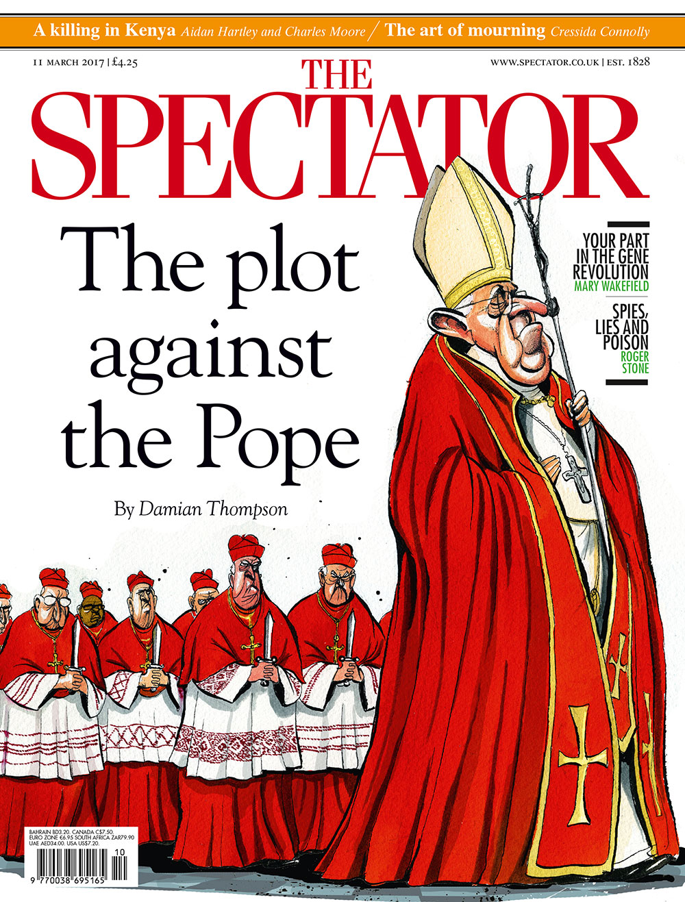 Issue: 11 March 2017 | The Spectator